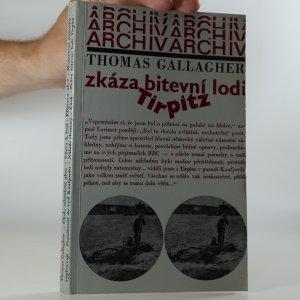 náhled knihy - Zkáza bitevní lodi Tirpitz