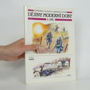 náhled knihy - Dějiny moderní doby. I. díl.