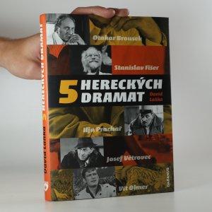 náhled knihy - 5 hereckých dramat