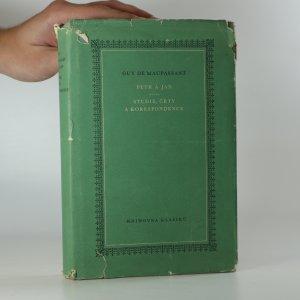 náhled knihy - Petr a Jan. Studie, črty a korespondence