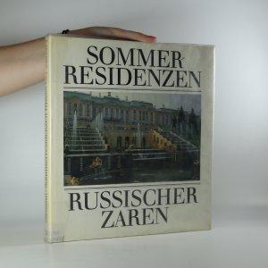 náhled knihy - Sommerresidenzen russischer Zaren
