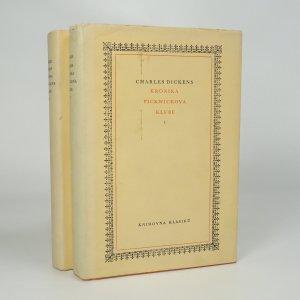 náhled knihy - Kronika Pickwickova klubu I.-II. (2 svazky)