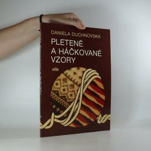 náhled knihy - Pletené a háčkované vzory