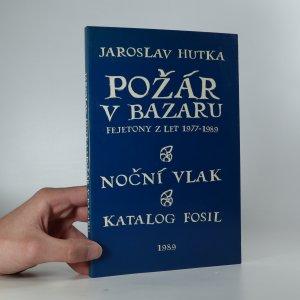 náhled knihy - Požár v bazaru