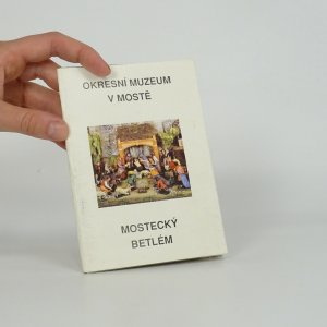 náhled knihy - Mostecký betlém - Soubor 12 barevných pohlednic
