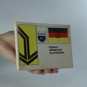 náhled knihy - Česko německý slovníček