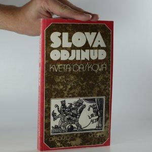 náhled knihy - Slova odjinud