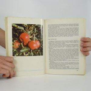 antikvární kniha Pěstování jabloní, 1980