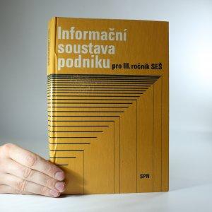 náhled knihy - Informační soustava podniku pro III. ročník SEŠ
