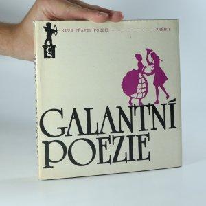 náhled knihy - Galantní poezie