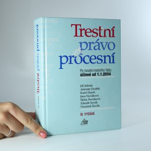náhled knihy - Trestní právo procesní