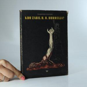 náhled knihy - Kdo zabil H. O. Burrella?