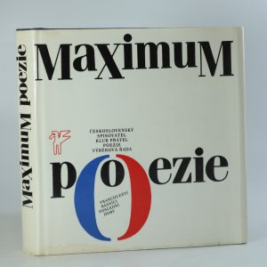 náhled knihy - Maximum poezie