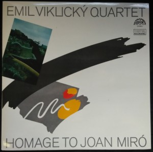 náhled knihy - Emil Viklický Quartet: Homage to Joan Miró