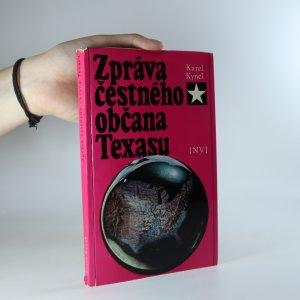 náhled knihy - Zpráva čestného občana Texasu