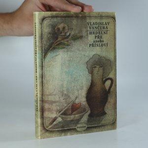 náhled knihy - Hrdelní pře, anebo, Přísloví