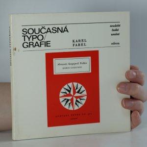 náhled knihy - Současná typografie