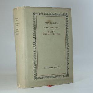 náhled knihy - Napoleon Malý. Dějiny jednoho zločinu.