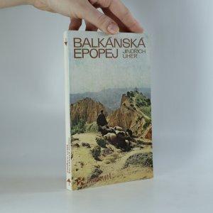 náhled knihy - Balkánská epopej
