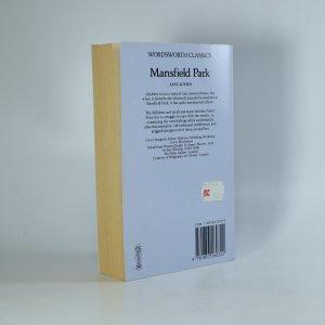 antikvární kniha Mansfield Park, 1992