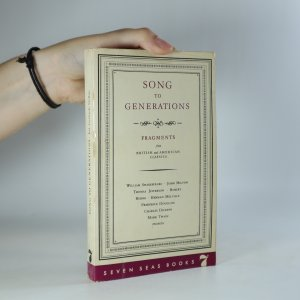 náhled knihy - Song to generations. Fragments from British and American classics