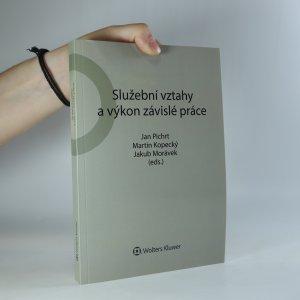 náhled knihy - Služební vztahy a výkon závislé práce