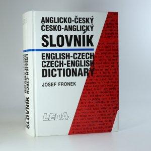 náhled knihy - Anglicko-český, česko-anglický slovník. English-Czech, Czech-English dictionary.