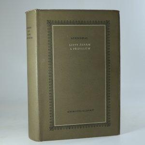 náhled knihy - Listy ženám a přátelům