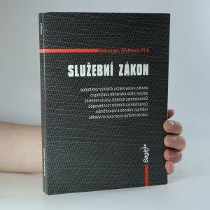 náhled knihy - Služební zákon