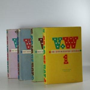 náhled knihy - W + V. Hry Osvobozeného divadla (svazky 1 až 4)