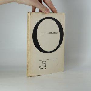 náhled knihy - Eta, Eta, žlutí ptáci