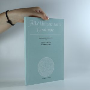 náhled knihy - Acta universitatis Carolinae Philosophica et Historica 3-4