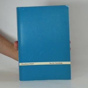 náhled knihy - Kunsthaus Zürich : Aus der Sammlung