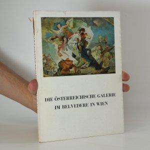 náhled knihy - Die Österreichische Galerie im Belvedere in Wien