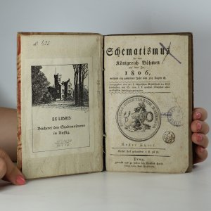 antikvární kniha Schematismus für das Königreich Böhmen auf das Jahr 1806. Erster Theil., 1806