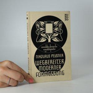 náhled knihy - Wegbereiter moderner Formgebung