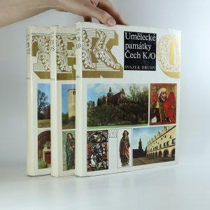 náhled knihy - Umělecké památky Čech II-IV (3 svazky).