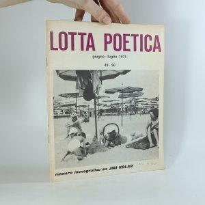 náhled knihy - Lotta poetica (giugno - luglio 1975). (č.: 49-50)