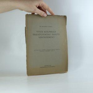 náhled knihy - Vývoj kolonisace drugetovského panství užhorodského (asi podpis autora)