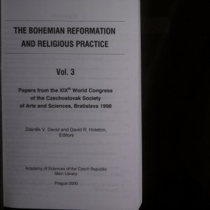antikvární kniha The Bohemian Reformation and Religious Practice (Vol. 3 - 6), 2007