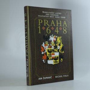 náhled knihy - Praha 1648 - nobilitační listiny pro obránce pražských měst roku 1648