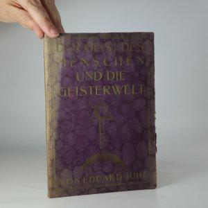 náhled knihy - Der Geist des Menschen und die Geisterwelt
