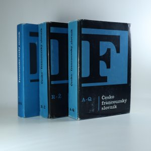 náhled knihy - Česko - francouzský slovník A - Q,  Česko - francouzský slovník R - Ž, Francouzsko - český slovník