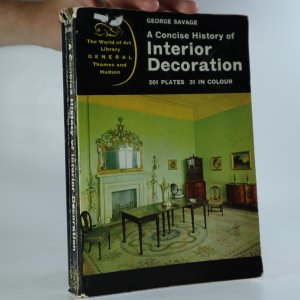 náhled knihy - A Concise History of Interior Decoration
