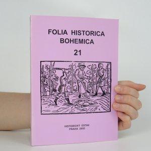 náhled knihy - Folia historica Bohemica č. 21