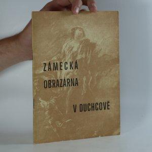 náhled knihy - Zámecká obrazárna v Duchcově