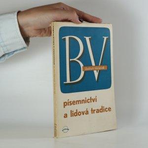 náhled knihy - Písemnictví a lidová tradice