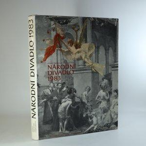 náhled knihy - Národní divadlo 1983. Rekonstrukce a dostavba okolí