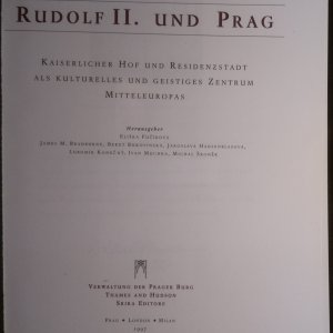 antikvární kniha Rudolf II. und Prag, 1997