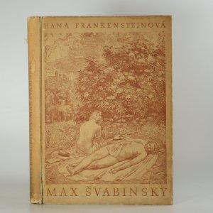 náhled knihy - Max Švabinský III. díl